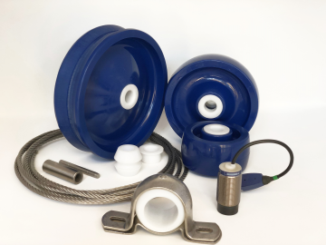 Spare parts for MRI Hoseles Cable-Vac Sludge Collector